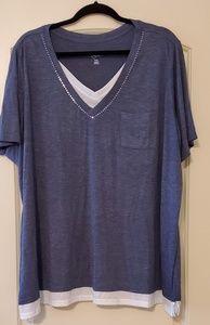 NWOT Avenue 30/32 Tshirt plus size